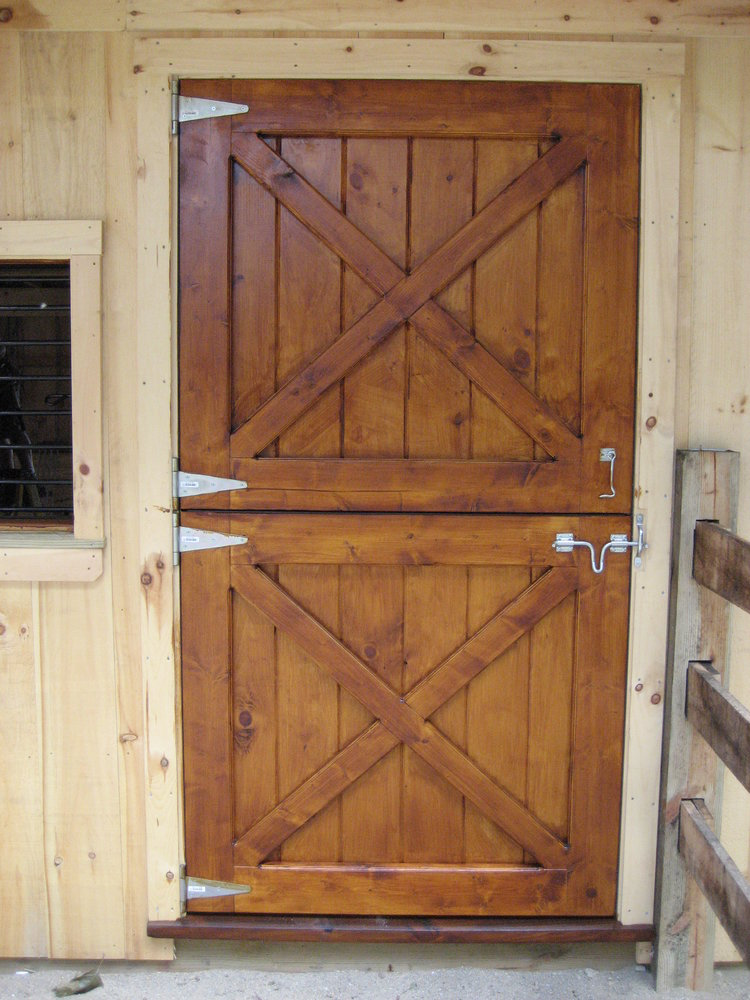 Dutch Door Package Zinc Hw Barn Depot Exterior Barn Doors Horse Barn Doors Dutch Doors Exterior