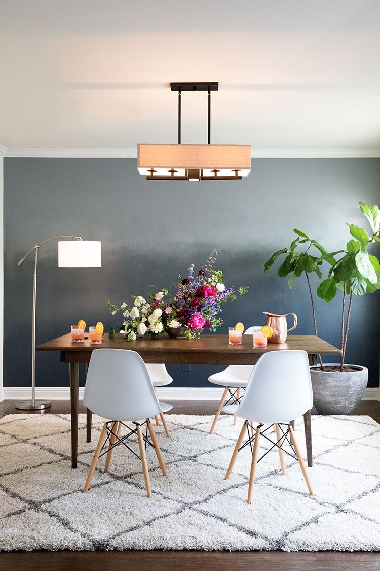How To Paint An Ombre Wall The Home Depot Blog Ombre Wall Paint Colors For Living Room Decor #paint #colors #for #living #room #home #depot
