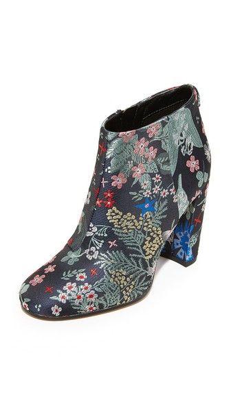 8196bfa79 SAM EDELMAN Cambell Floral Brocade Booties.  samedelman  shoes  boots