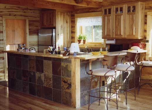Decoración rústica de paredes en cocinas y bodegas cavas rusticas