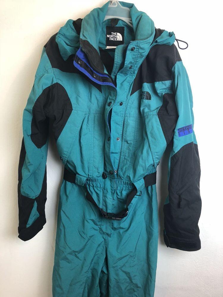 edacf20352 Women s Vintage The North Face Extreme Light Jacket Full Ski Snowsuit Sz 8   TheNorthFace