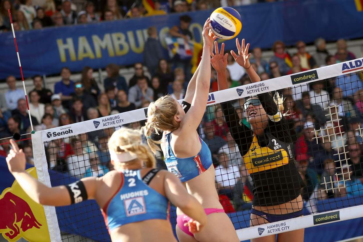 Beach Volleyball World Championship Christian Charisius Picture Alliance Getty Images Beach Volleyball Volleyball Woman Beach