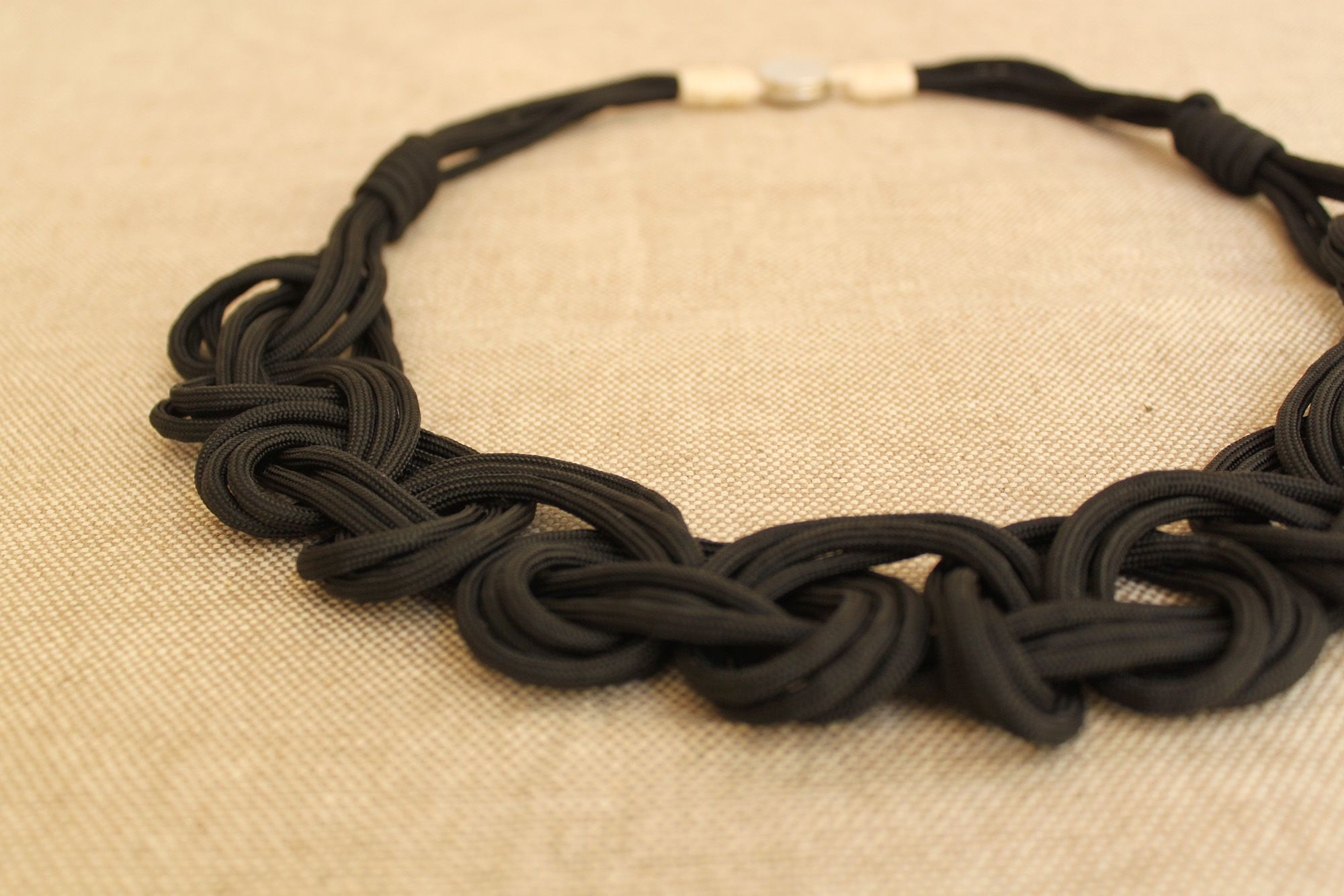 beautiful braided mess steps necklace diy a rope