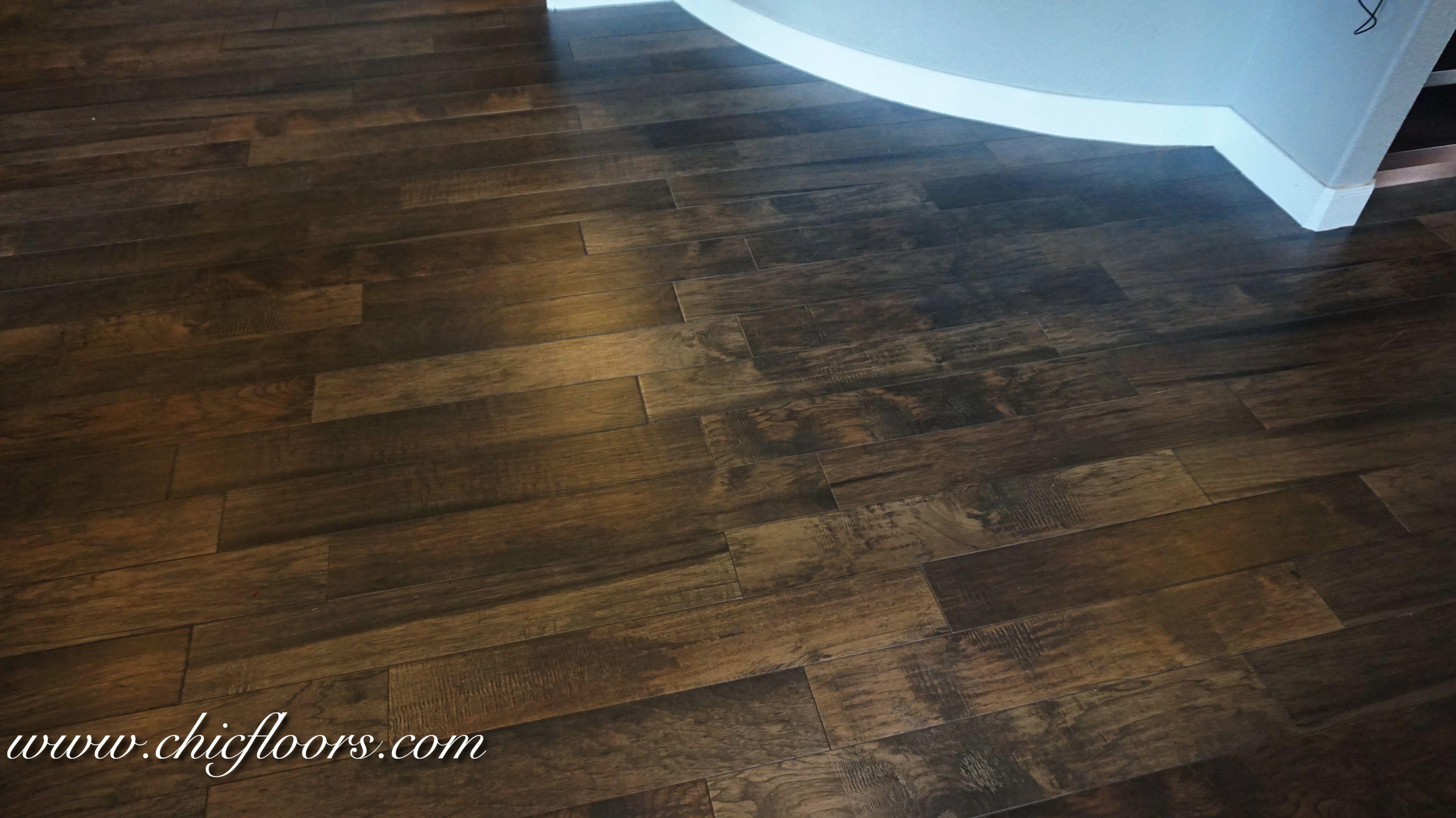 Beautiful Wood Look Tile By Shaw Hacienda Color Walnut Basement Flooring Wood Look Tile Flooring
