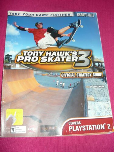 Tony Hawk's Pro Skater 3 Strategy Guide for PlayStation 2 Free Shipping | eBay