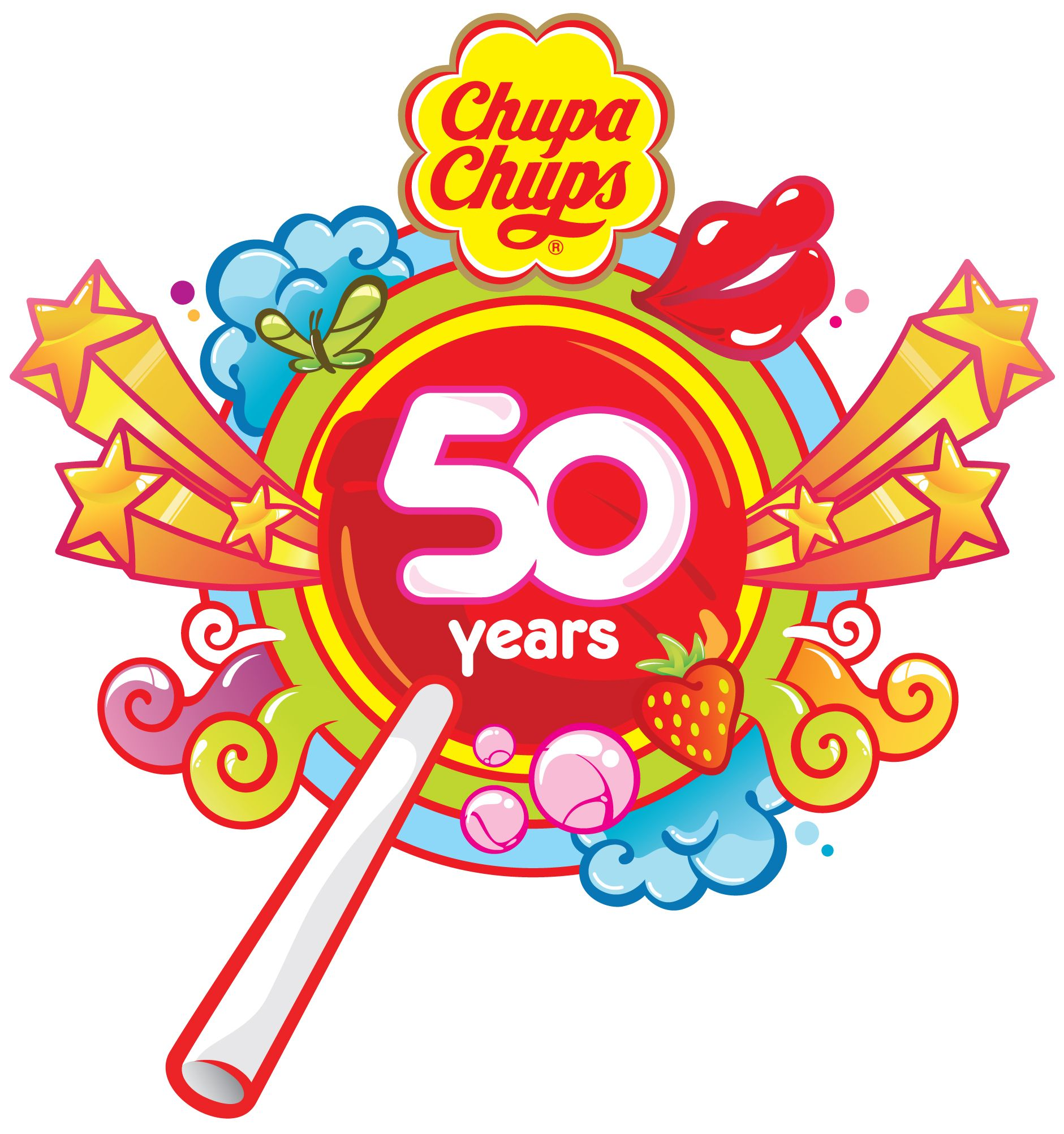 During the last 50 years Chupa Chups has been moving the