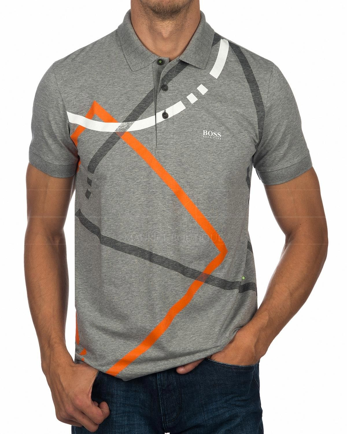 b685b0e814c92 Polos Hugo Boss Gris Pastel - Paddy 4 in 2019