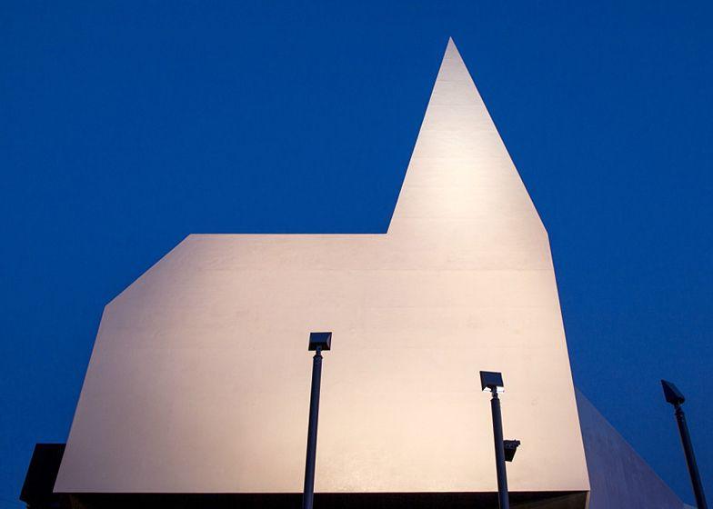 Church by Schneider+Schumacher based on signage looks like Batman