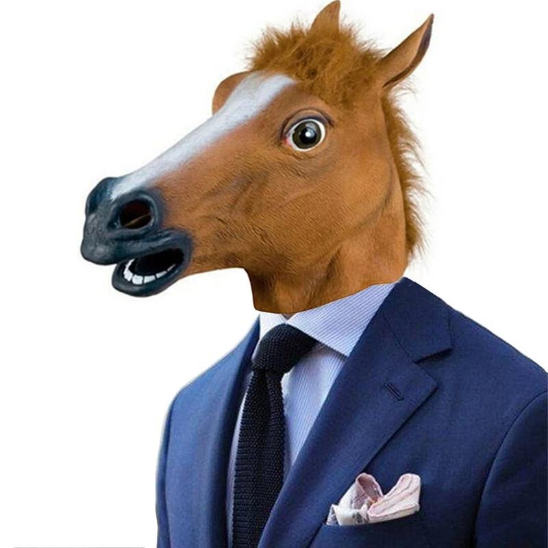 Horse Head Prank Party Mask Horse Head Mask Horse Head Head Mask