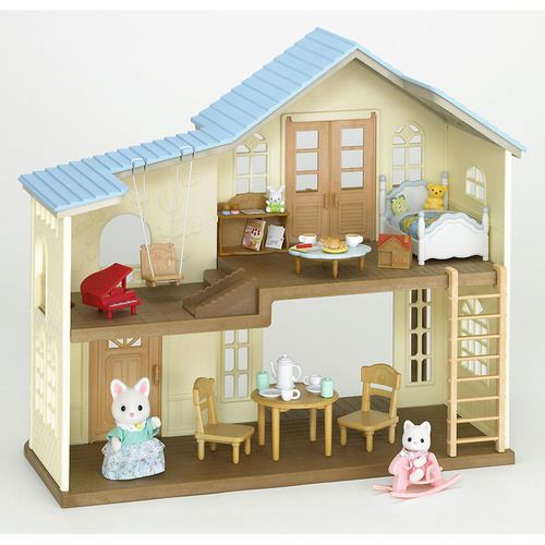 Sylvanian Families Calico Critters Deluxe TV Set