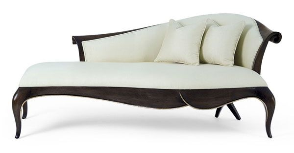 Sofia The designer's choice; Christophers chaise lounge design draws instant attraction with sheer elegance and sensual appeal. Available in Left and Right versions.
