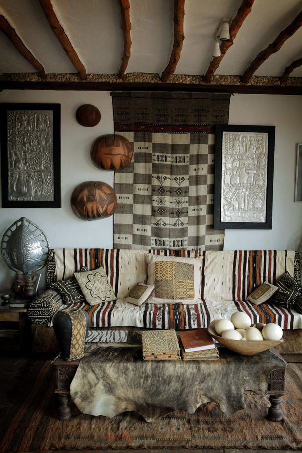 The Home Of Alan Donovan In Nairobi Kenya African Home Decor African Decor Decor