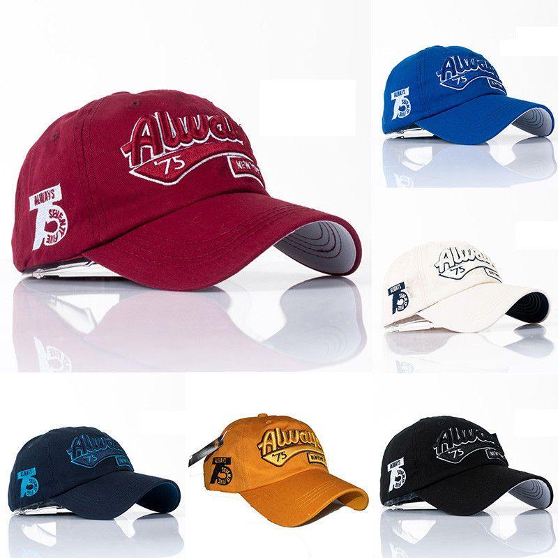 f688a5a69 New Men Baseball Cap Snapback Hat Hip-Hop Adjustable Bboy Caps ...