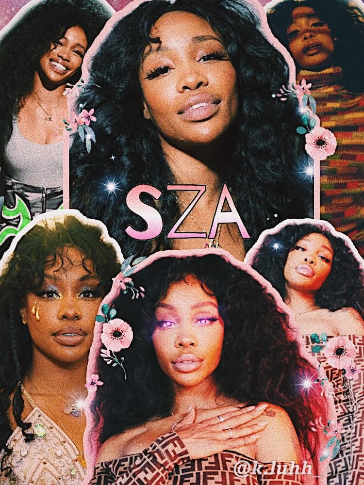 Pin By Bab On Artistic Sza Singer Black Girl Aesthetic Celebrity Wallpapers