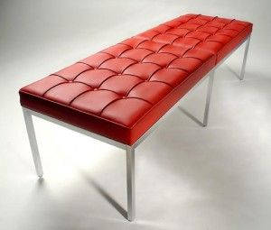 Florence Knoll Style 60 Inch Bench 이미지 포함