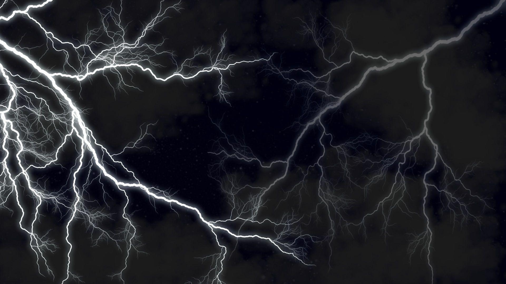 Lightning Strikes Wallpaper Текстуры, Обои