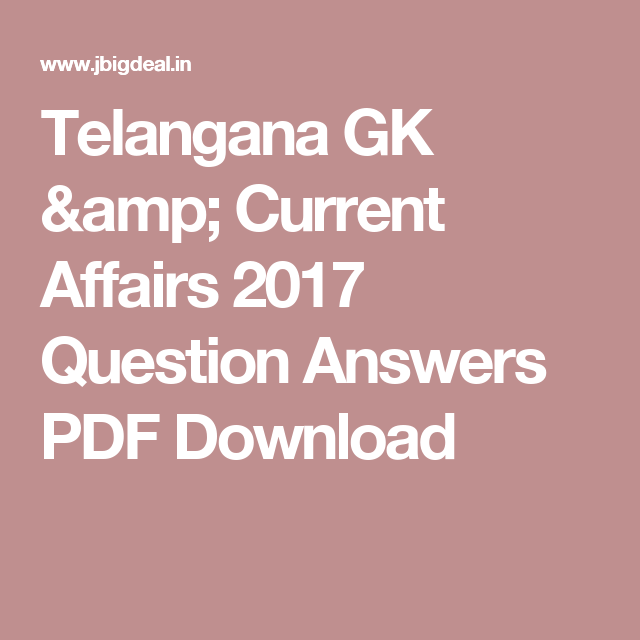 current affairs 2012 pdf free download in telugu