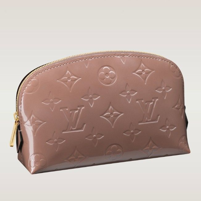 (Width*Height*Depth) 2.4 X 4.7 X 6.7 inches  - Natural cowhide leather trim  - Golden brass pieces  - 1 flat pocket  - Washable textile lining  - Colors: Rose Verlours, Amarante, Pomme D'amour, Indian Rose