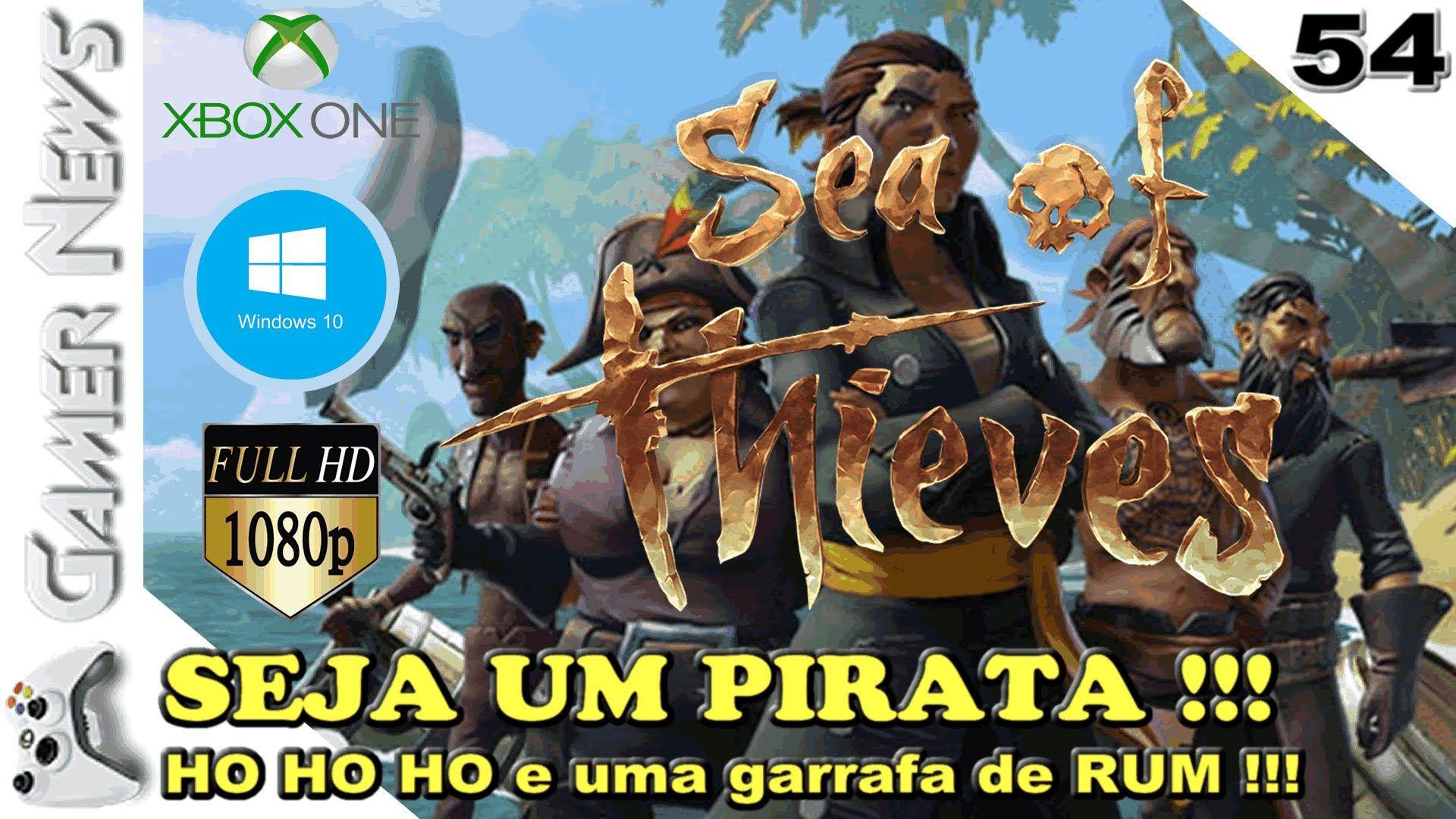 SEA OF THIEVES - Quer ser um pirata em um RPG multiplayer com elementos ...