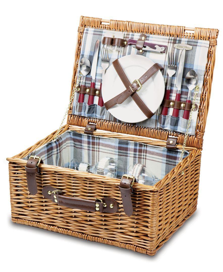 Bristol picnic basket with images picnic basket