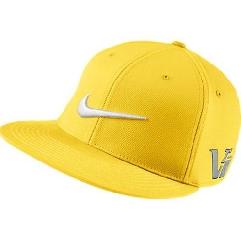 3de5cf12 NIKE 2013 FLAT BRIM / BILL TOUR GOLF HAT DANDELION YELLOW 20XI VRS CAP
