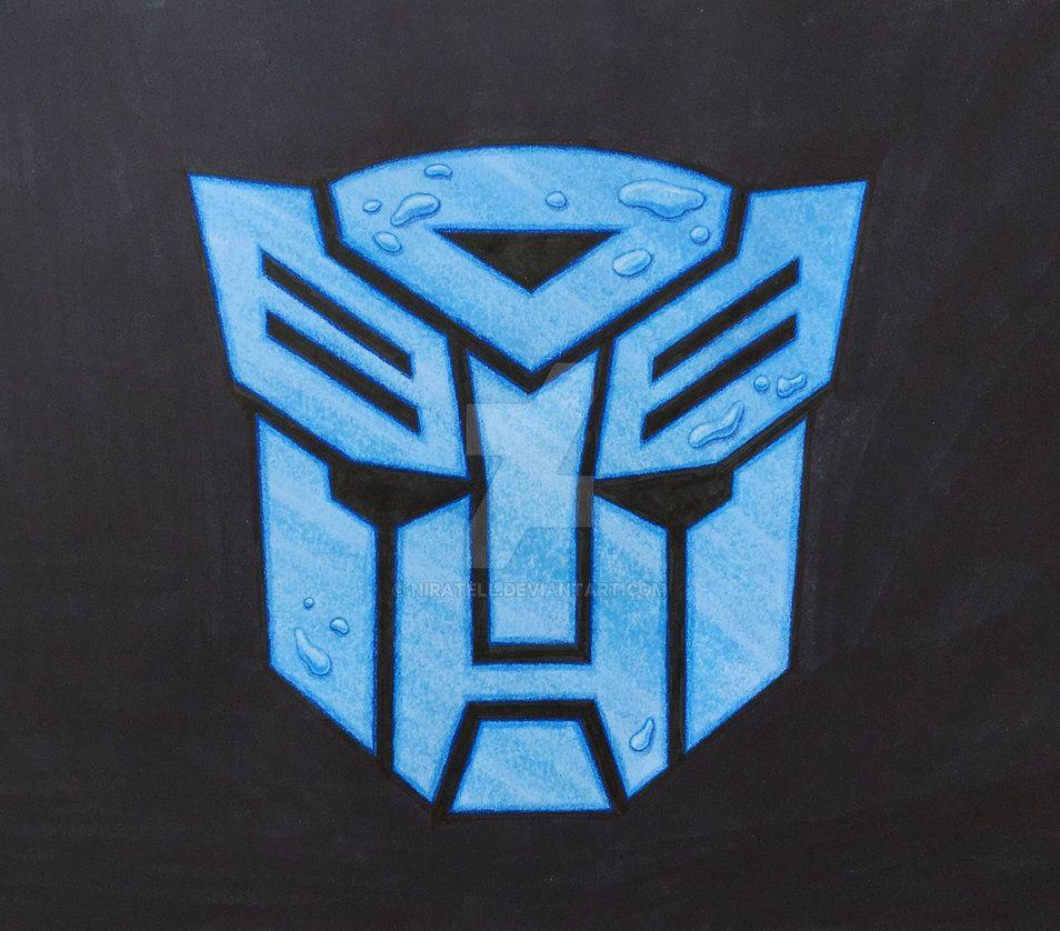 Transformers Autobot Logo Water Transformers Pinterest