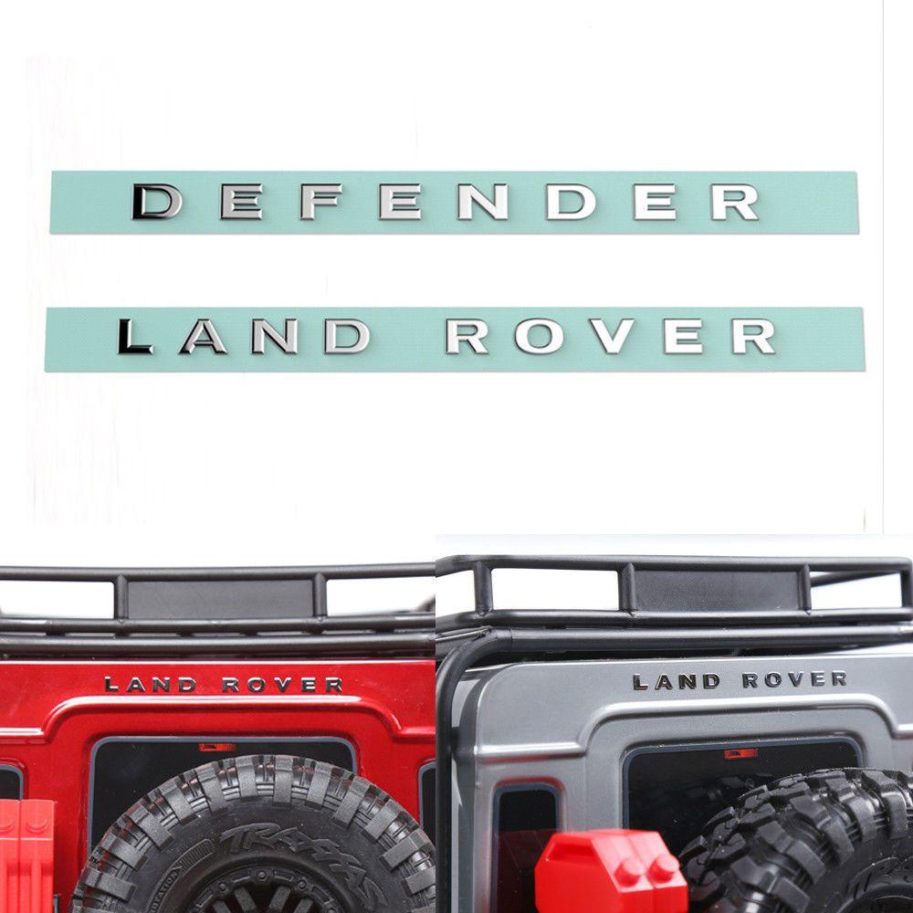 Metal Logo Sticker Defender For Traxxas Trx4 D90 D110 Rc Crawler Cars Land Rover Defender Car Defender [ 1000 x 1000 Pixel ]