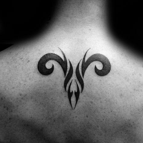 75 Aries Tattoos For Men – Zodiac Ink Design Ideas