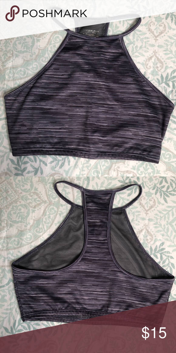 f71360cd194d4c Aéropostale Live Love Dream Bra top- size Small Worn Once! Like new!  Aéropostale