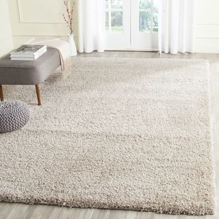 Shop For Safavieh California Cozy Solid Beige Shag Rug 8 X 10 Get Free Shipping At Overstock Com Your Online Home Decor Outlet S Rugs Shag Rug Beige Rug
