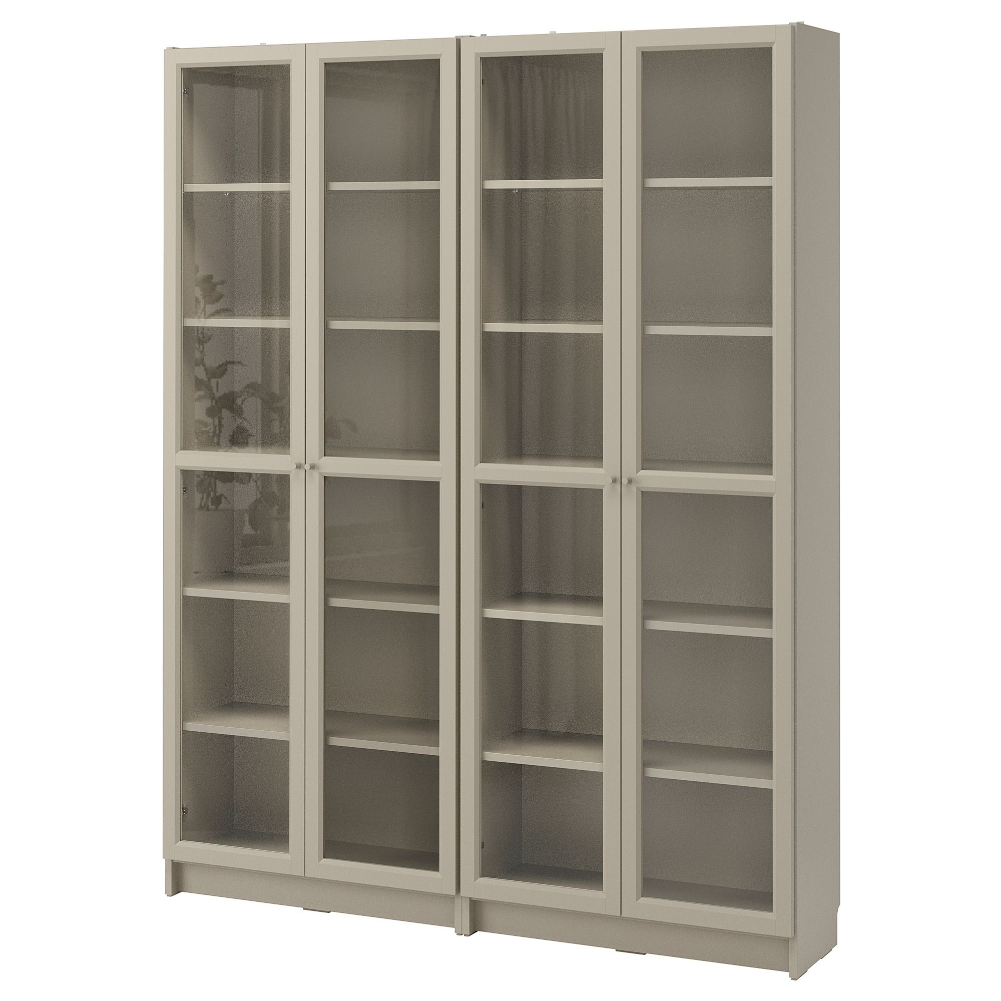Ikea Us Furniture And Home Furnishings Bookcase With Glass Doors Billy Bookcase Bookcase