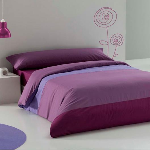 Funda n rdica lisa tricolor elegir las s banas para cama de 135 cm y al hacer el pedido antes - Fundas nordicas lisas ...