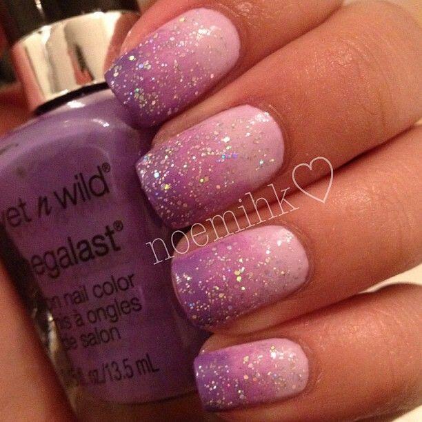 Purple Ombre Purple Ombre Nails Ombre Nails Pink Nails