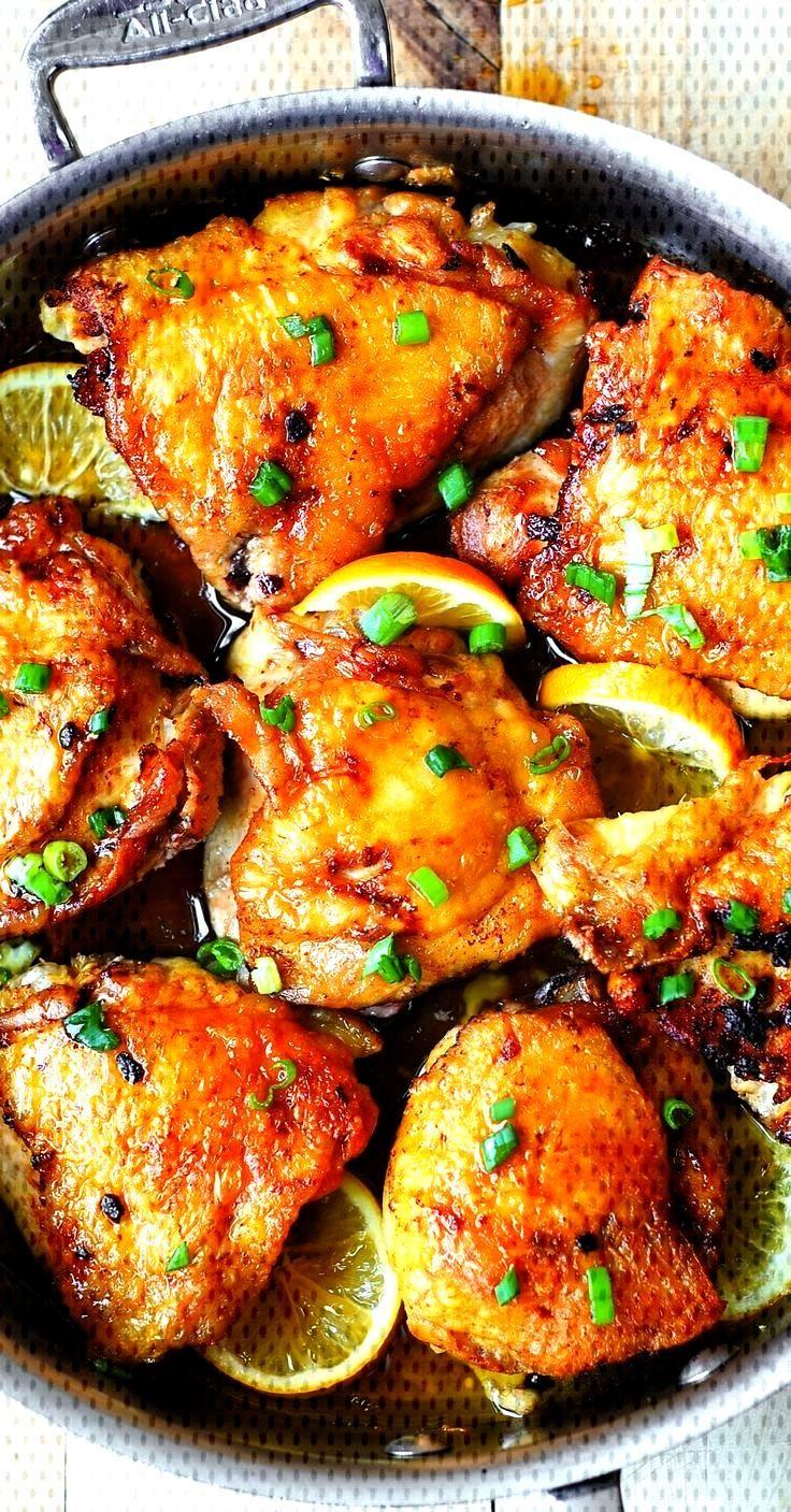 Lemon Ginger Chicken Legs - Recipes and Ideas - Lemon Ginger Chicken Thighs  -