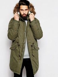 Thinsulate parka mens