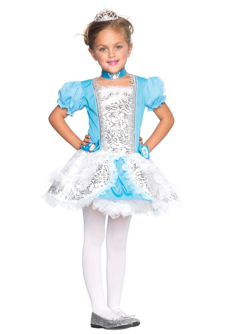 Cinderella Fairytale Princess Cute Kids Holiday Party Costume ...