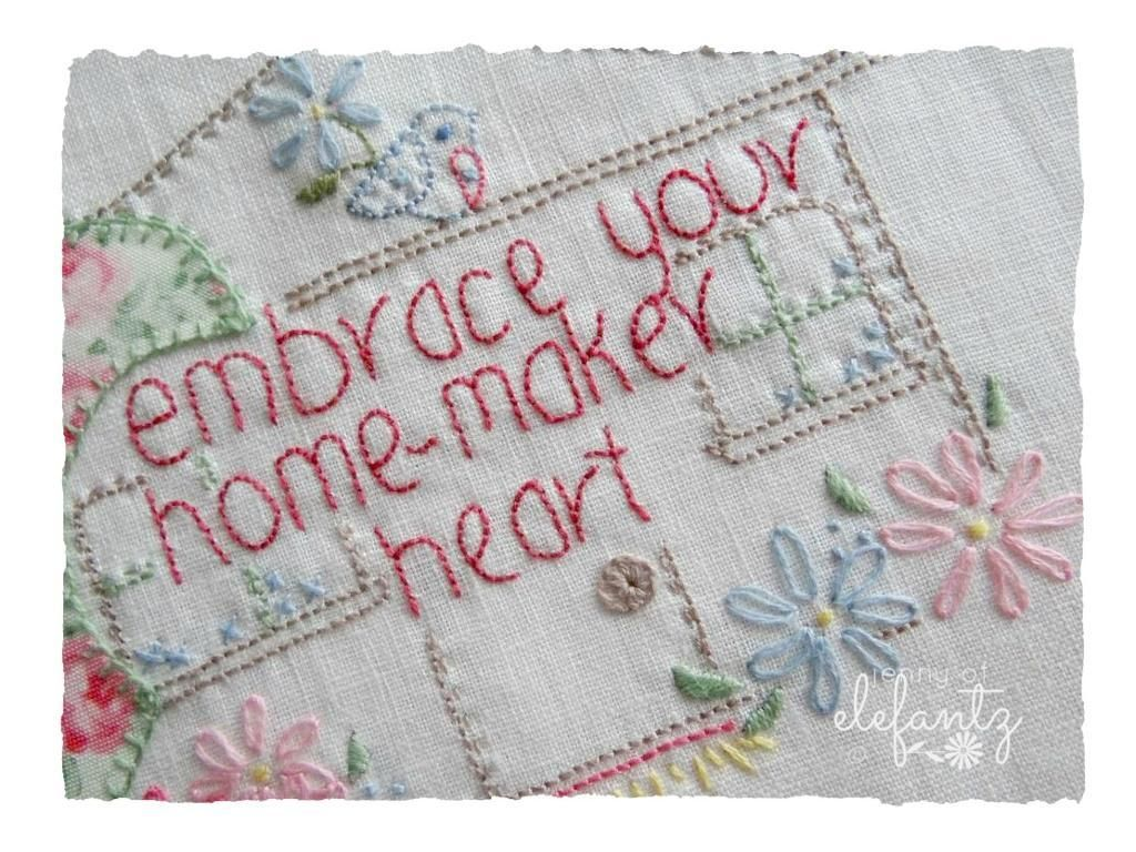 Your Homemaker Heart | Bordado