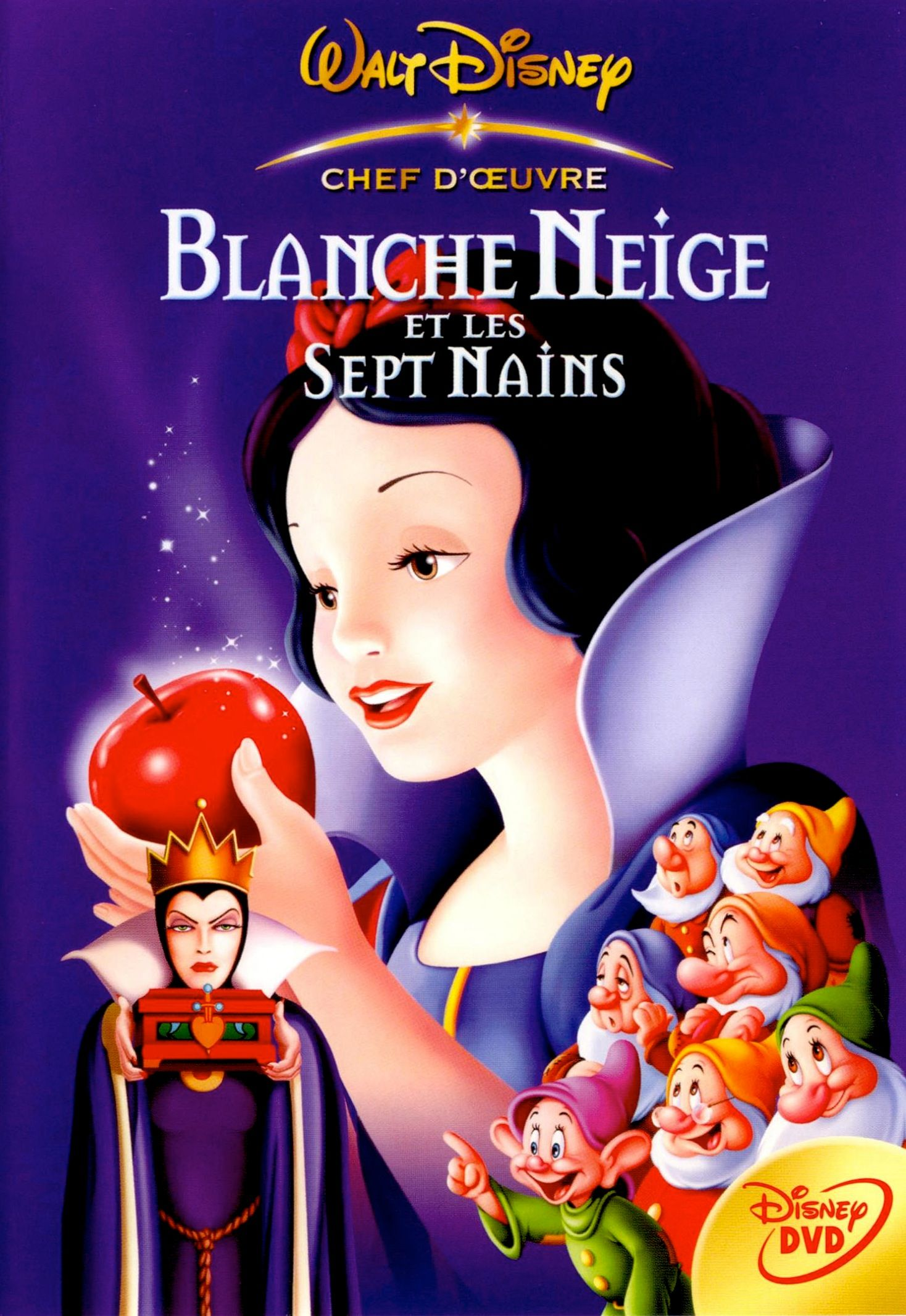 blanche neige et les sept nains ma collection dvd br. Black Bedroom Furniture Sets. Home Design Ideas