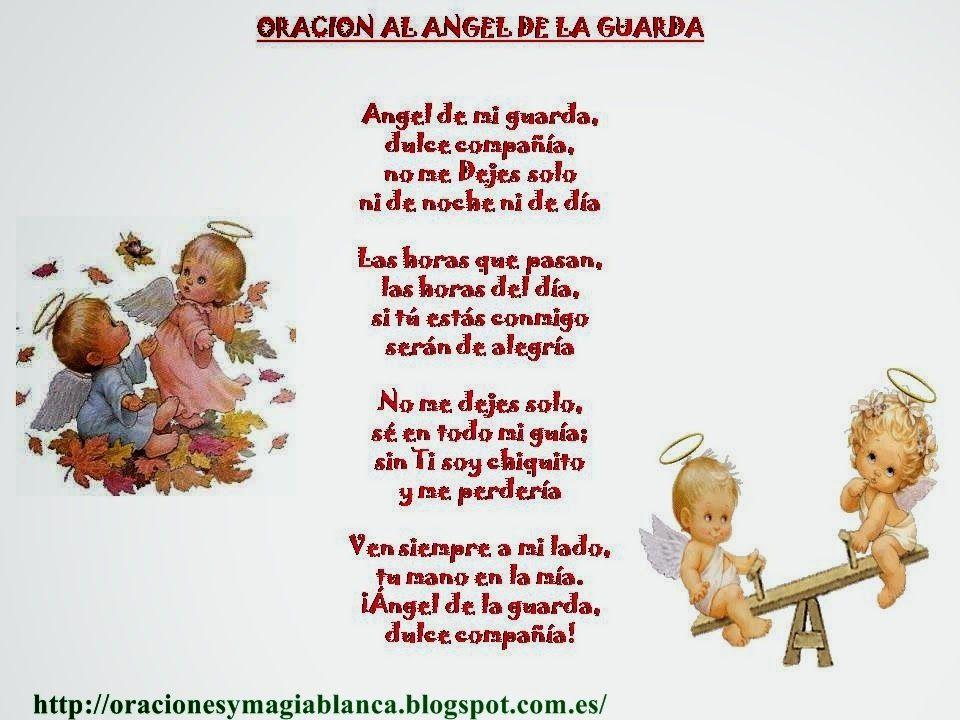 Oracion Y Fotografia Del Angel De La Guarda Angeles Y Arcangeles