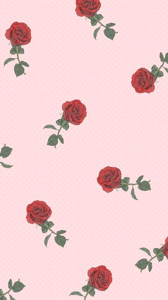Pink Roses Iphone Wallpaper Wallpaper Iphone Roses Rose Wallpaper Flower Wallpaper