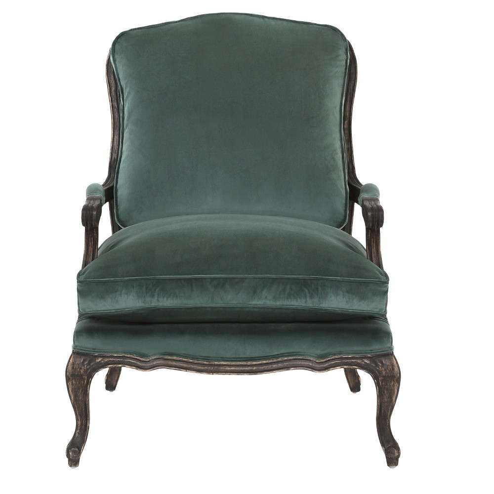 Accent Chairs Moss (Green) Black - Safavieh