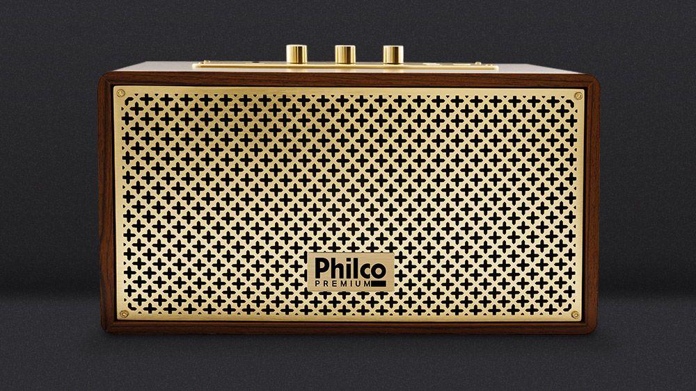 cbc50cc2a Caixa Acústica Retrô Philco Premium - Polishopcomvc