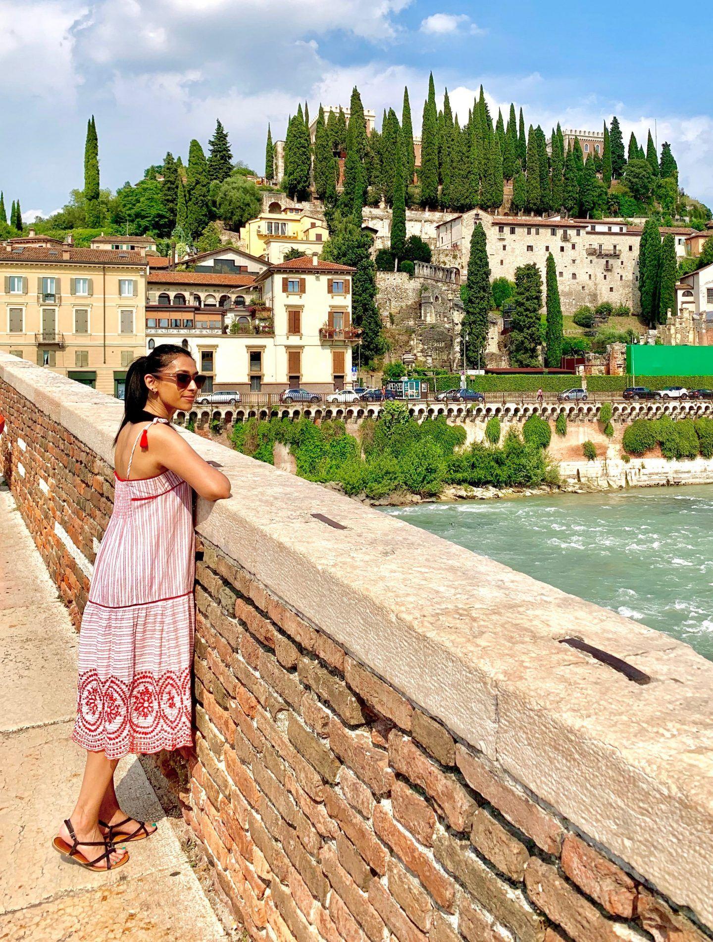 Verona Italy Map Romeo And Juliet