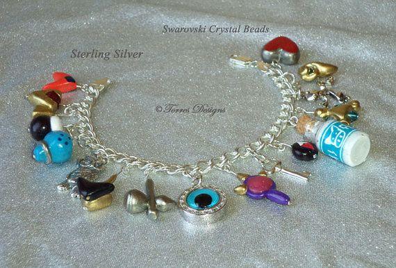 Sterling Silver Ocarina of Time Bracelet Legend by TorresDesigns