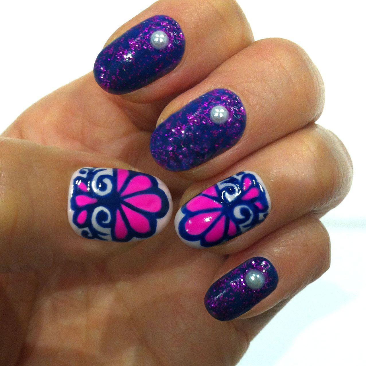 nail art Beautiful nail art, Nails