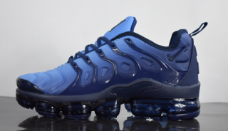 cf0c06939fe67 New Style Nike Air VaporMax Plus Tn Obsidian Photo Blue 924453 401 Sneakers Men s  Running Shoes