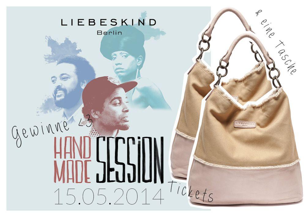 liebeskind Verlosung // Gewinnt Tickets & zwei Taschen für die Liebeskind Berlin Handmade Session