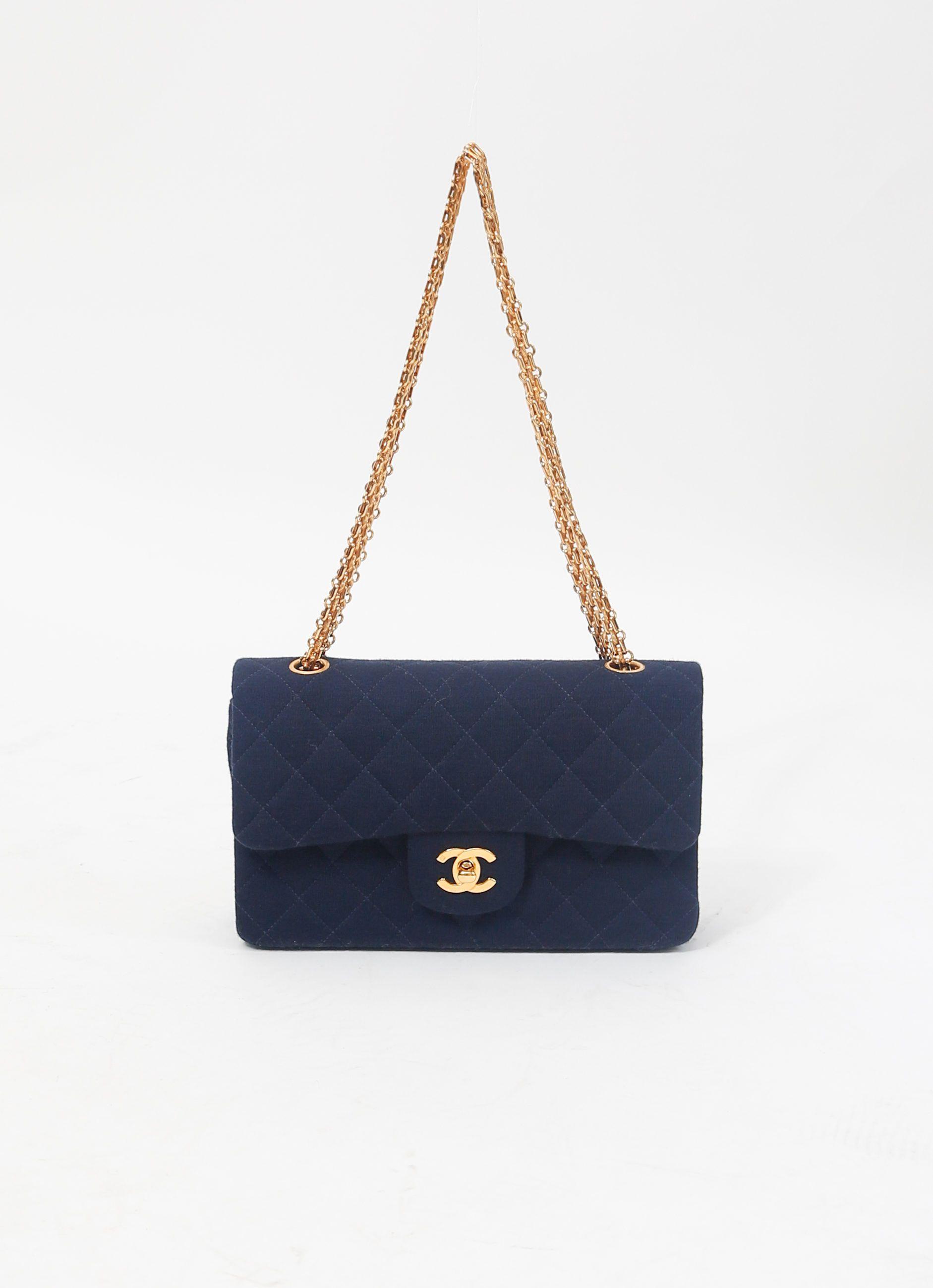 Chanel Vintage Jersey Bag | Order now on RESEE.com