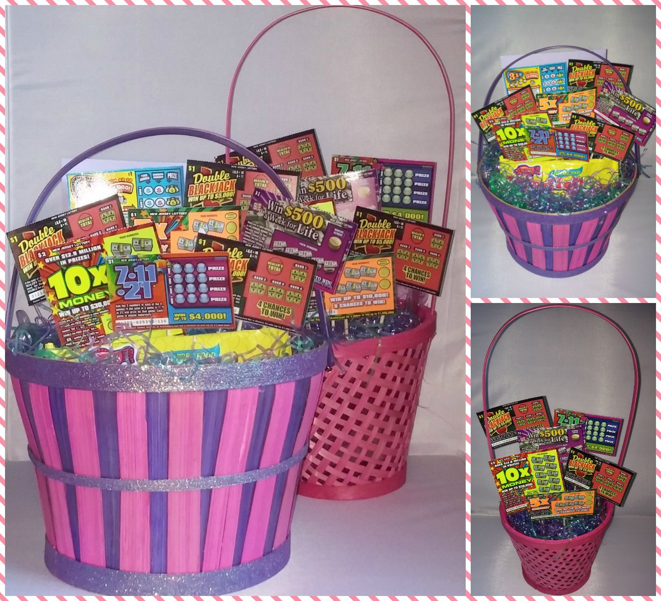 Easter basket lottery scratch off tickets for parents and easter basket lottery scratch off tickets for parents and grandparents negle Images