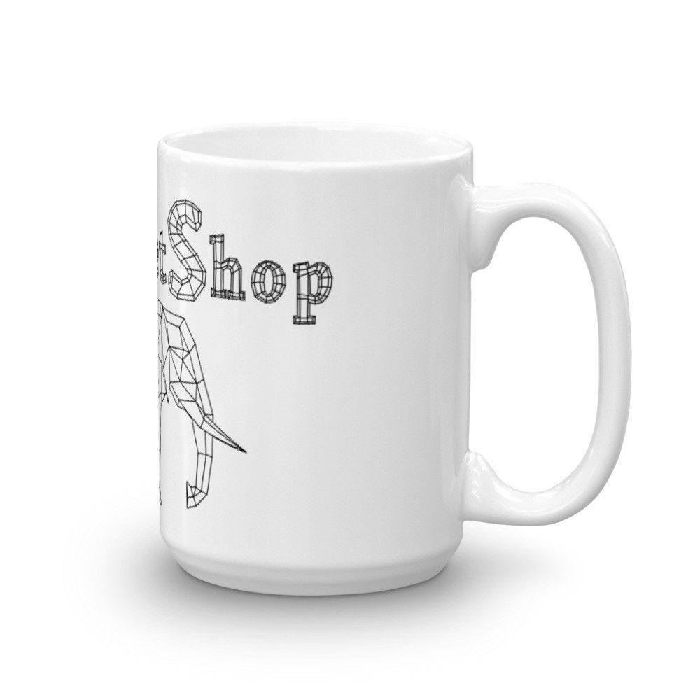 Paperpetshop mug free papercraft elephant download included